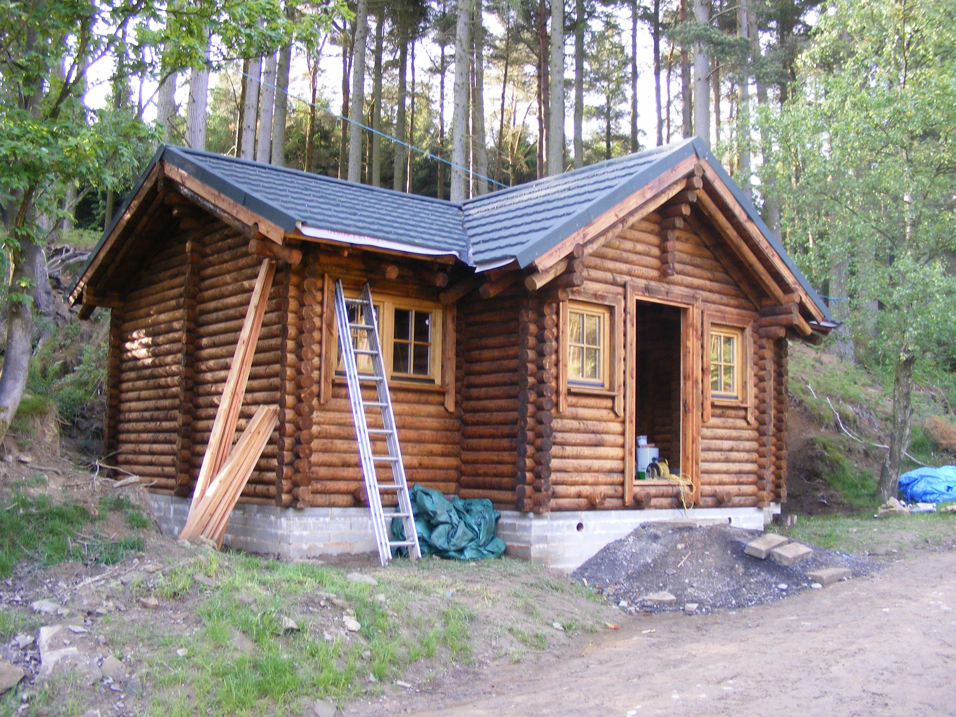 Log builder scotland log cabin scotland log home scotland for Log cabins for sale north yorkshire