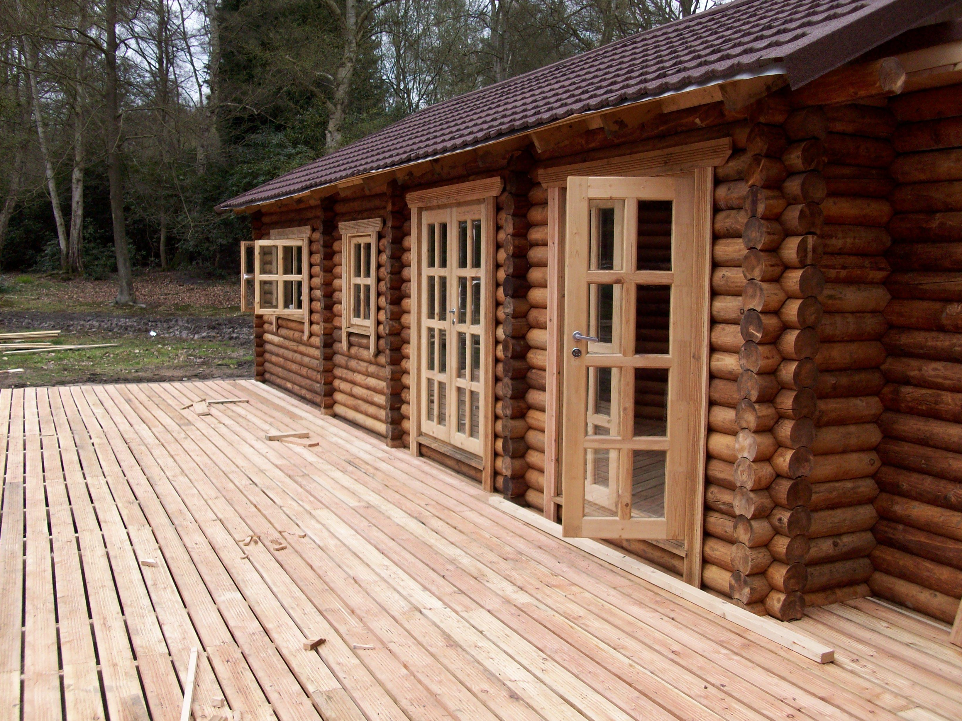 Log builder scotland log cabin scotland log home scotland - Casas de troncos redondos ...